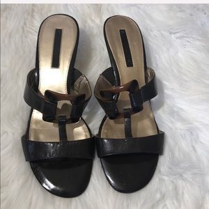 Bandolino Buckle Small Heel Sandals